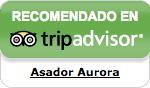 Asador Aurora recomendado en TripAdvisor